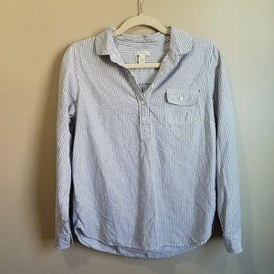 J. Crew 100% Cotton Blouse Size S